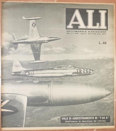 ALI SETTIMANALE D'AVIAZIONE ANNO II - N. 17 MILANO - 12 MAGGIO 1952