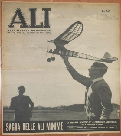 ALI SETTIMANALE D'AVIAZIONE ANNO II - N. 20 MILANO - 7 GIUGNO 1952