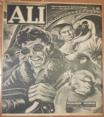 ALI SETTIMANALE D'AVIAZIONE ANNO II - N. 24 MILANO - 19 LUGLIO 1952