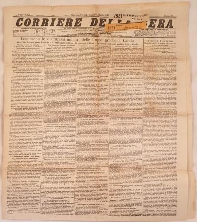 CORRIERE DELLA SERA MILANO GIOVEDI VENERDI 18 19 FEBBRAIO 1897